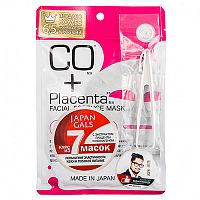 Маска с плацентой и коллагеном Mask with placenta and collagen, Japan Gals