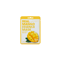 Маска тканевая для лица с экстрактом манго - Real mango essence mask, Farm Stay