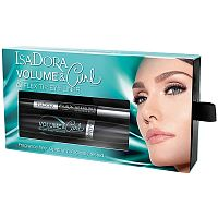 Подарочный набор Volume & Curl and Flex Tip Eyeliner, IsaDora