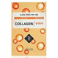 Маска для лица тканевая с колагеном Therapy air mask collagen skin firming, Etude House