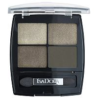 Тени для век Eye Shadow Quartet, IsaDora