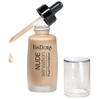 Тональный крем-флюид Nude Sensation Fluid Foundation, IsaDora