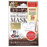 Маска с коллагеном Collagen mask, Japan Gals